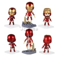The Avengers Iron Man 10cm PVC Action Figure Model Collectible Toy