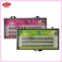 Ten Piece Cross Eyelash Extension