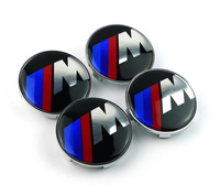 Excellent 65mm ///M Aluminum wheel center cap cover hub cap for BMW m3 m5 X1 X3 X5 X6 E36 E39 E46 E30 E60 E92 car emblem sticker
