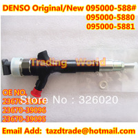Denso Original Common Rail Injector 095000-5881 / 23670-30050 / 23670-39096 For TOYOTA HIACE /TOYOTA HILUX  2KD-FTV
