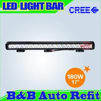 180W CREE LED LIGHT BAR LED DRIVING LIGHT Flood/Spot IP67 FOR OFFROAD MARINE BOAT CAMPING 4x4 ATV UTV USE