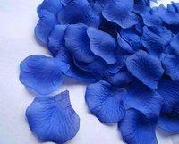 1500pcs Wedding royal blue Silk Rose Petals for Wedding Decoration Festival Favor Hand Throwing Flowers 15bags 100pcs/bag