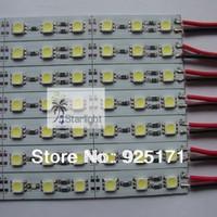50pcs DC 12V 5050SMD PCB light bar / aluminum PCB rigid LED Showcase bar strip 36LED 0.5meter