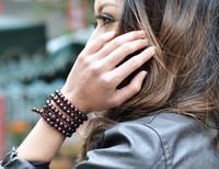 H1 new sandalwood red sandalwood bracelet beads bracelet for men and women