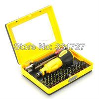 34-in-1 Multi-Purpose Precision Screwdriver Set - Yellow + Black