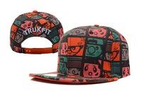Free shipping Trukfit hat adjustable hiphop cap flat along the cap baseball cap hip-hop cap general hat
