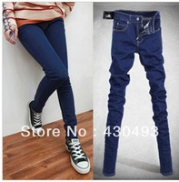 New summer dress thin jeans pencil pants plus-size women pants foot height pants show thin han edition tide