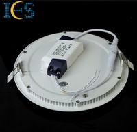 4pcs/lot;12w,6500K LED Round Panel light;recessed light,ultra-thin Downlight,Ceiling light.For Hotel,Shopping Mall;Home.