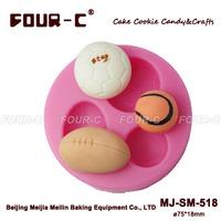 Silicone sugarcraft mold,cupcake decorating mold,perfect cupcake decoration