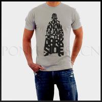 Darth Vader Star Wars alphabet male short-sleeved T-shirt new arrival Fashion Brand t shirt for men 2013 summer