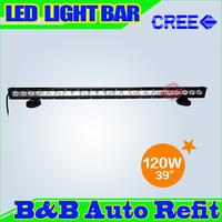 Newest! 120W CREE LED LIGHT BAR LED DRIVING LIGHT Flood/Spot IP67 FOR OFFROAD MARINE BOAT CAMPING 4x4 ATV UTV USE