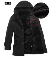 L0336, free shipping men's winter jacket, fashion mens coats,plus size overcoat, causal warm winter coat men, wholesale