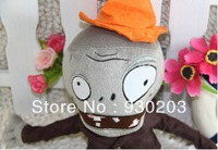Plants vs Zombies Plush Toy - Zombie with Hat 28*10CM (Small Size)
