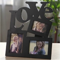 Free Shipping Creative LOVE combination of European children swing sets 5-inch photo frame  Desktop Frame Picture Frame