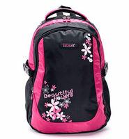 Fashion high-grade anti-fouling waterproof nylon fabric ultralight backpack schoolbag
