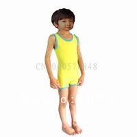 Children conjoined baby bathing suit men and women bathing suit children swimwear boy girl swimsuit jumpsuits swimsuit  S.M.L