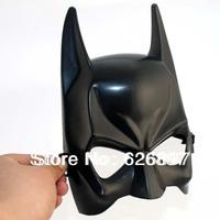 Free Shipping 30pcs/lot Cheap Discount Wholesale Black Batman Masks Dark Knight For Child Kids Adult Party Face Halloween Masks