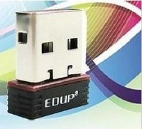 Free shipping~EDUP Mini Wireless N 11n Wi-Fi USB Adapter Dongle for Nano #8508