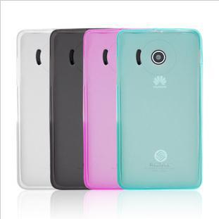 Huawei  Y300 Transparent TPU Case For Huawei  Y300 U8833 Silicone Soft Case Cover +Free screen protector