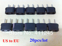 Free Shipping 10pcs/lot US to EU Universal Travel Plug Adapter