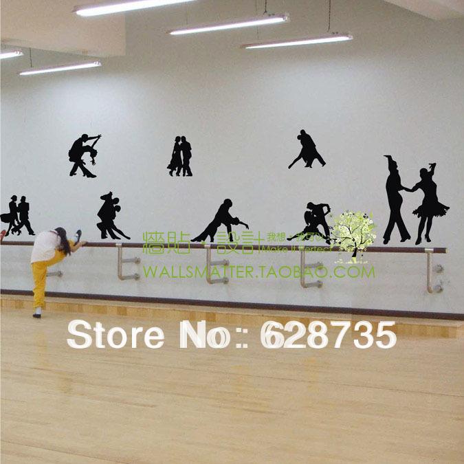 Alfa img showing dance studio wall - Sticker mural leroy merlin ...