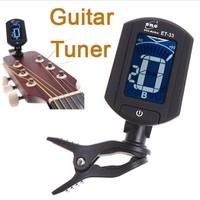 Wholesale 10pcs/lot Exquisite LCD Digital Bass Violin Ukulele Guitar Tuner Free Shipping Dropshipping