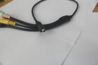 10-Pin D-Shaped LANC and Audio/Video Adapter Cable for Sony Camcorders 0.5M  Highly Recommended  Free  Shipping!