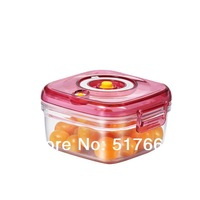 Vacuum storage box microwave plastic lunch  crisper box