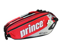 Prince exo3 pro team tennis bag 6 tennis ball racket bag red and green
