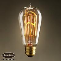 E27 40w - 60w bulb tungsten wire light bulb personalized classical bulb nostalgic vintage light source
