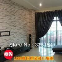 Imported imitation brick pattern super three-dimensional backdrop wallpaper
