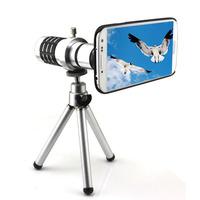 OSINO Aluminum 12X Zoom Telescope Lens Camera Tripod For Samsung Galaxy S4 i9500 Free Shipping