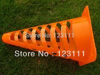 9'' PE pierced Soccer Football Basketball speed agility training cones/marker/track,Coaching training aids,Sport workoutz 100pcs