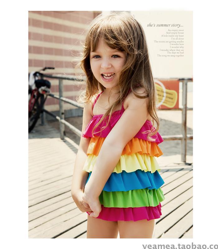 Little Girls in Swimwear Free Shipping Little Girls