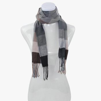 2013 New Arrival Australia Wool Scarf For Men Fashion Plaid Men's Scarf Free Shipping PWB014