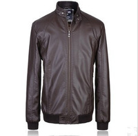 Free Shipping!Men Winter Jacket  Big Size  Genuine Leather