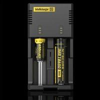 Nitecore Intellicharger i2 16340 CR123A 10440 AA AAA 14500 18650 26650, 22650, 17670,Li-ion/NiMH Battery Charger