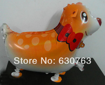 wholsale!2013 hot walking balloon my own cat Reindeer party decoration baby kids chinlren's birthday Toy & Gift  mixed 30design