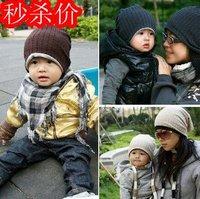 Fashion autumn and winter parent-child cap baby hat baby hat child hat