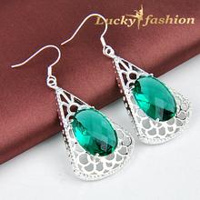 popular earrings green