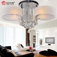 Lamp lighting modern brief crystal lamp ceiling light living room lamps 1715 (3 lights)