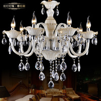 Lamp lighting fashion luxury brief crystal pendant light lamps 8003