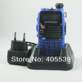 Free shipping BAOFENG UV-5RA PLUS blue  Dual Band VHF136-174MHz&UHF400-520MHz dual display walkie talkie UV-5RA+
