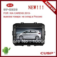 8 inch 2-din ANDROID CAR GPS supports WIFI, 3G, DVD,RADIO, Bluetooth,IPOD,SD, USB FOR KIA CARENS 2013-