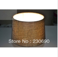 Lighting lamps diy lamp cover linen fabric hemp table lamp floor lamp