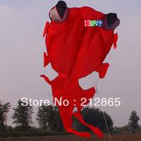 Free Shipping!! 3.3M Parafoil Orange Goldfish Kite,Sport kite /Stunt kite /Power kite