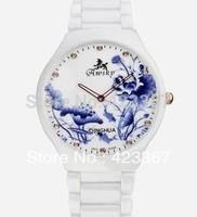 2015 Relogios Femininos Awsky Switzerland Brand Newest Chinese Style And Porcelain Ceramic Watch Ultra-thin Women's Fashion Lady