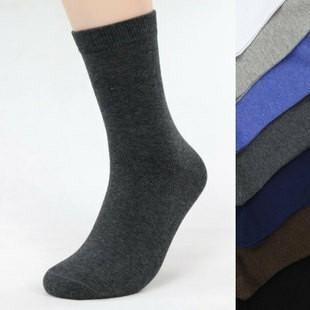 10 Pairs/lot Free Shipping Hot Fashion Wholesale Men's Cotton Socks,Men casual socks,Free Size(39-44),7 Colors(China (Mainland))