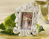 Valentine's Day wholesale 45PCS/LOT White Baroque Elegant Place Card HolderPhoto Frame
