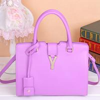 2014 New Cowhide women's handbag cross-body one shoulder bag genuine leather women messenger bags Y fashion bag Free shipping